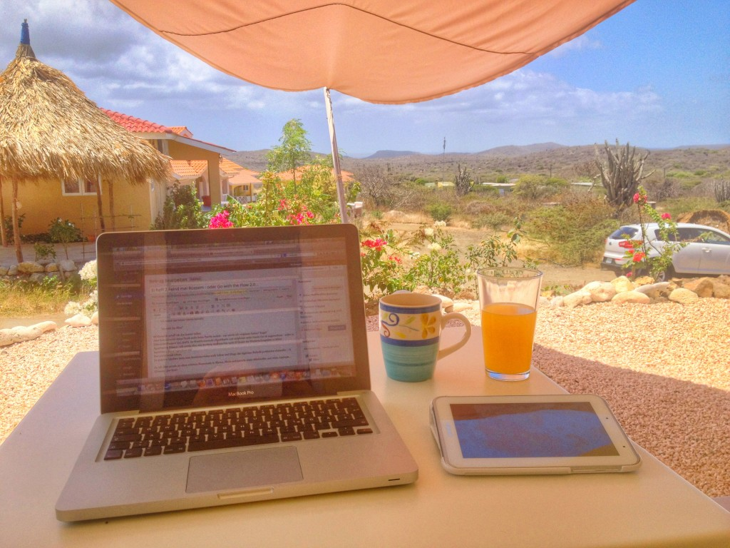 Blog at Office in the sun...