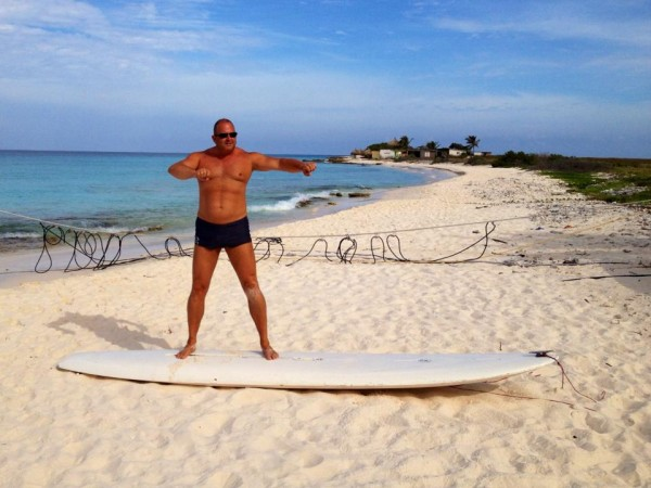 Surfen mit Stealth-Rigg