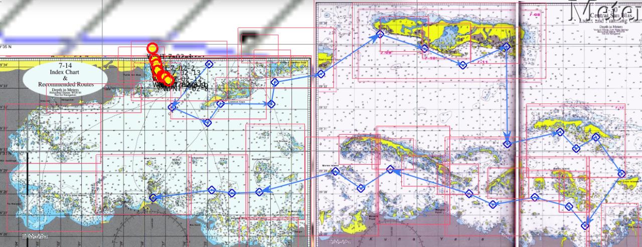 Karte San Blas